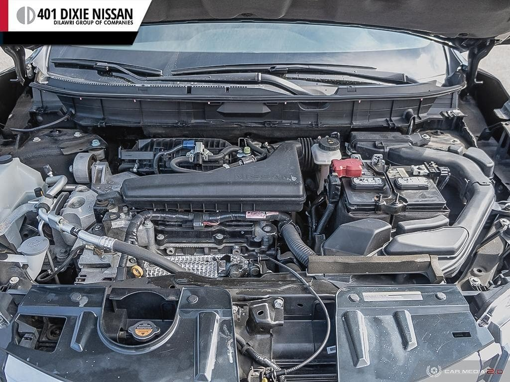 2017 Nissan Rogue S FWD CVT in Mississauga, Ontario - 8 - w1024h768px