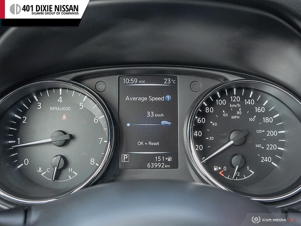2017 Nissan Rogue S FWD CVT in Mississauga, Ontario - 15 - w1024h768px