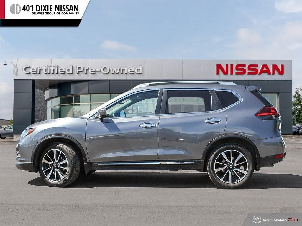 2017 Nissan Rogue SL Platinum AWD in Mississauga, Ontario - 3 - w1024h768px