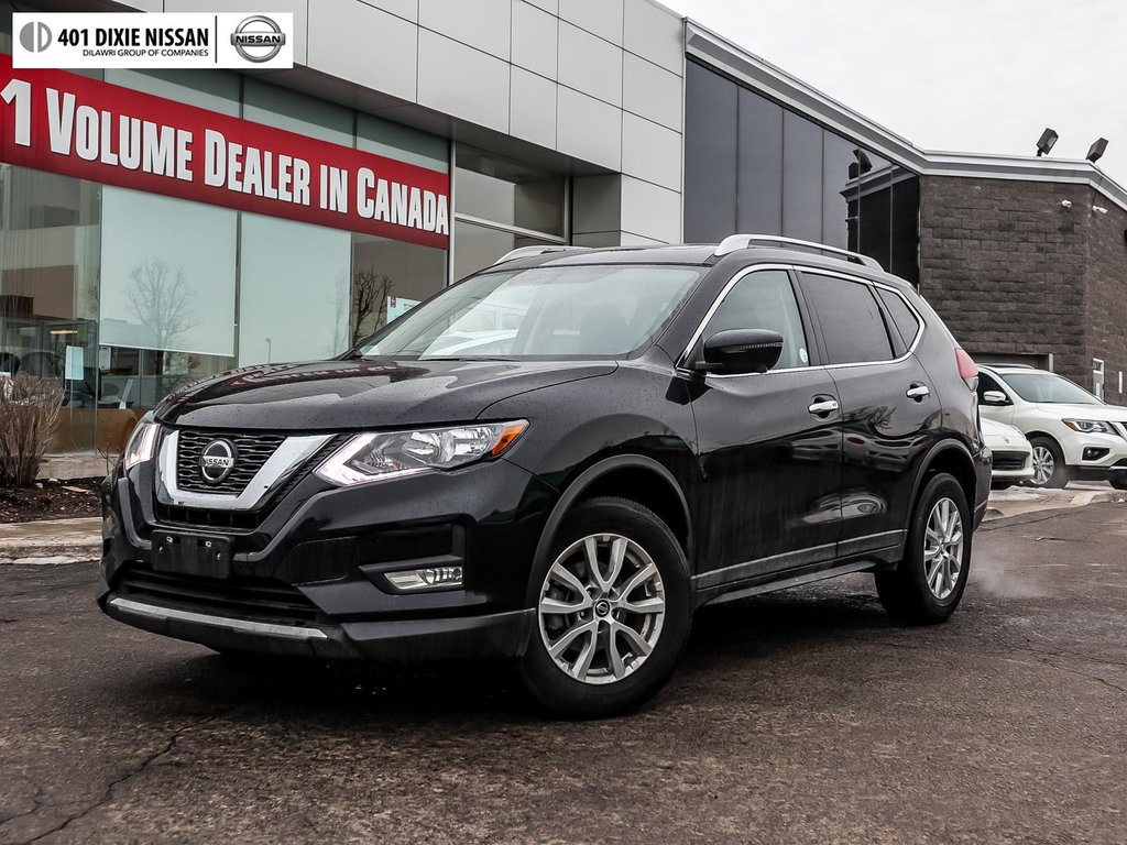 2018 Nissan Rogue SV AWD CVT in Mississauga, Ontario - 26 - w1024h768px