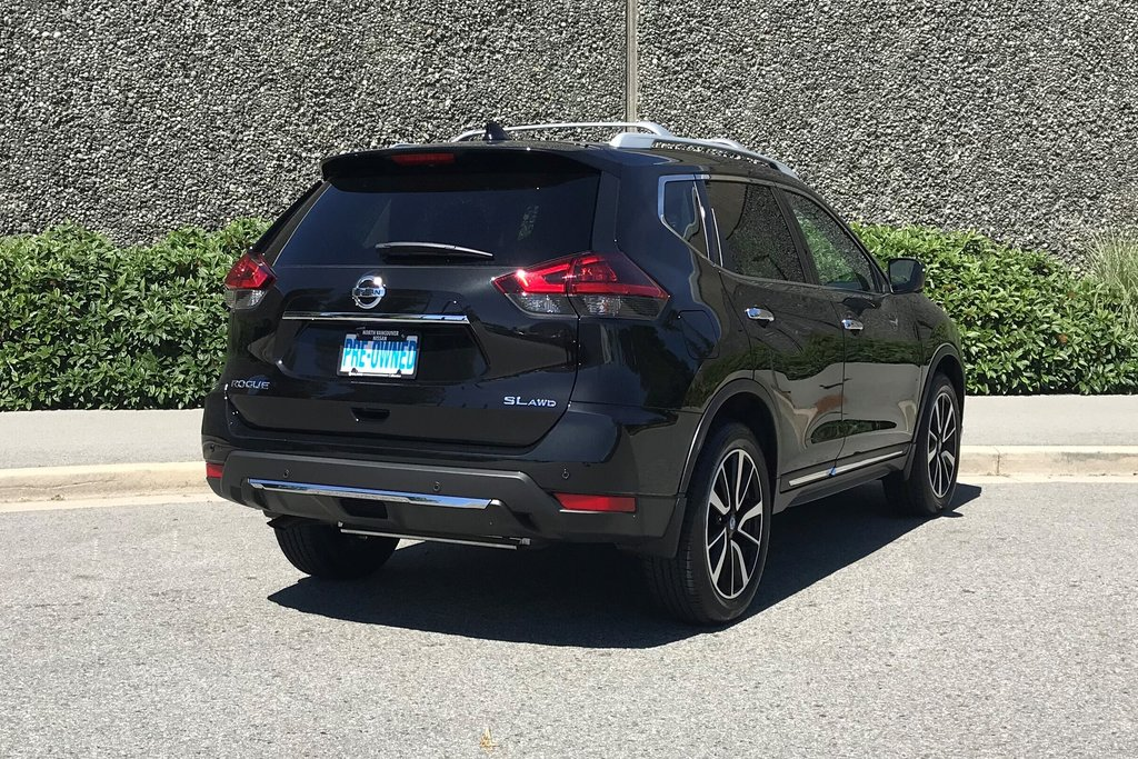 2019 Nissan Rogue SL AWD CVT in North Vancouver, British Columbia - 13 - w1024h768px