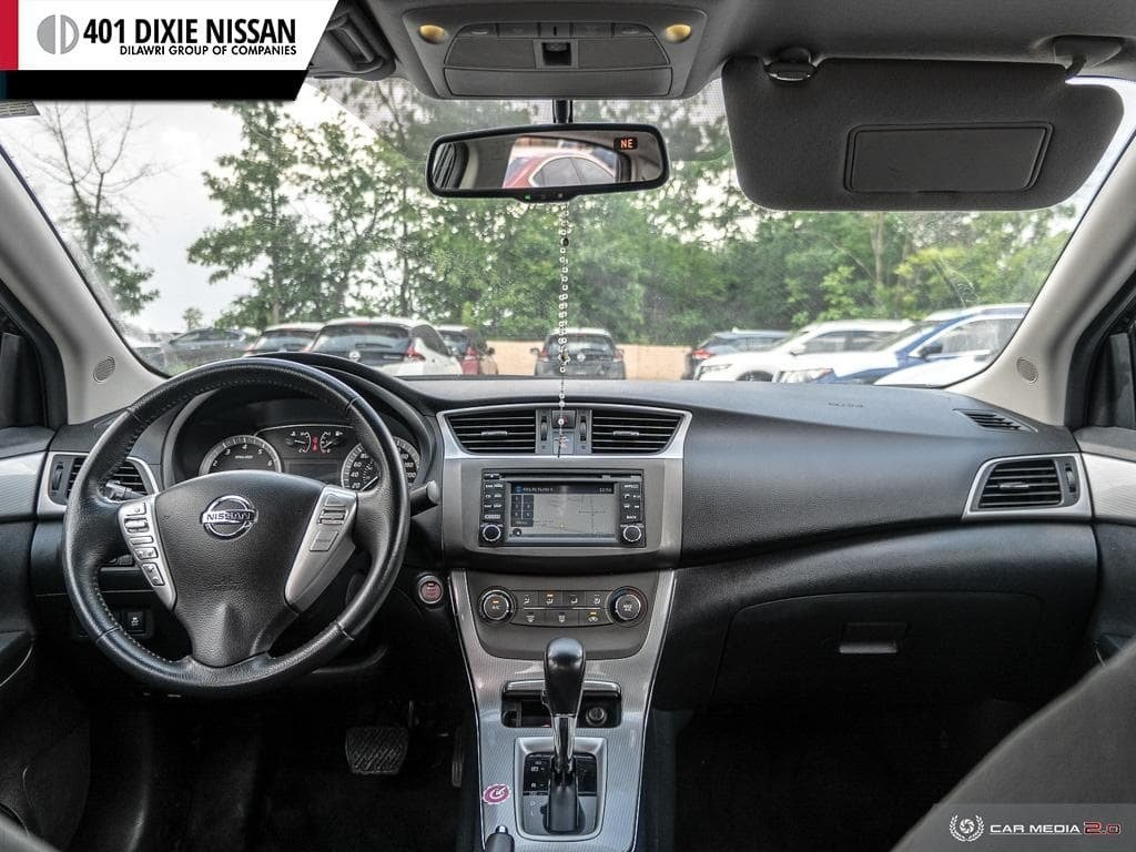 2014 Nissan Sentra 1.8 SR CVT in Mississauga, Ontario - 25 - w1024h768px