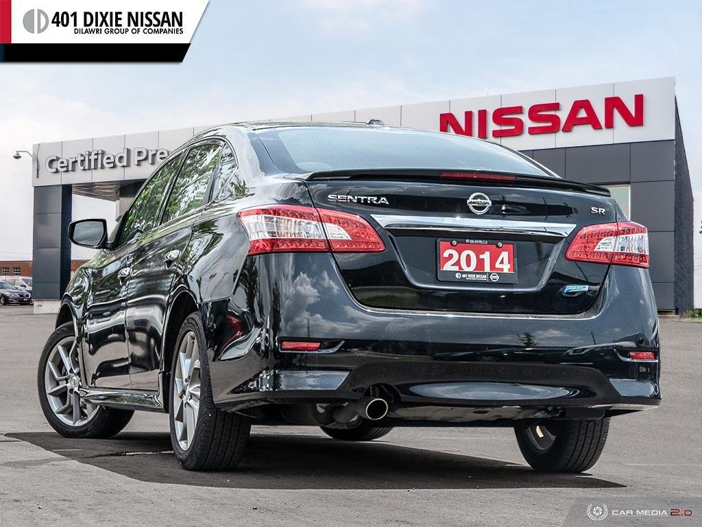 2014 Nissan Sentra 1.8 SR CVT in Mississauga, Ontario - 4 - w1024h768px