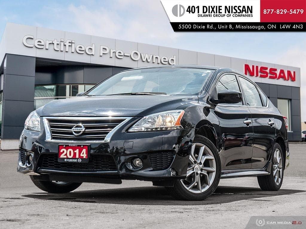 2014 Nissan Sentra 1.8 SR CVT in Mississauga, Ontario - 1 - w1024h768px