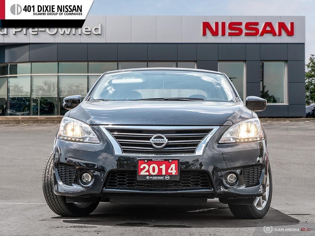 2014 Nissan Sentra 1.8 SR CVT in Mississauga, Ontario - 2 - w1024h768px