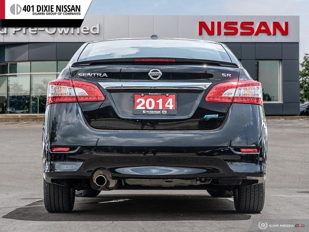 2014 Nissan Sentra 1.8 SR CVT in Mississauga, Ontario - 5 - w1024h768px