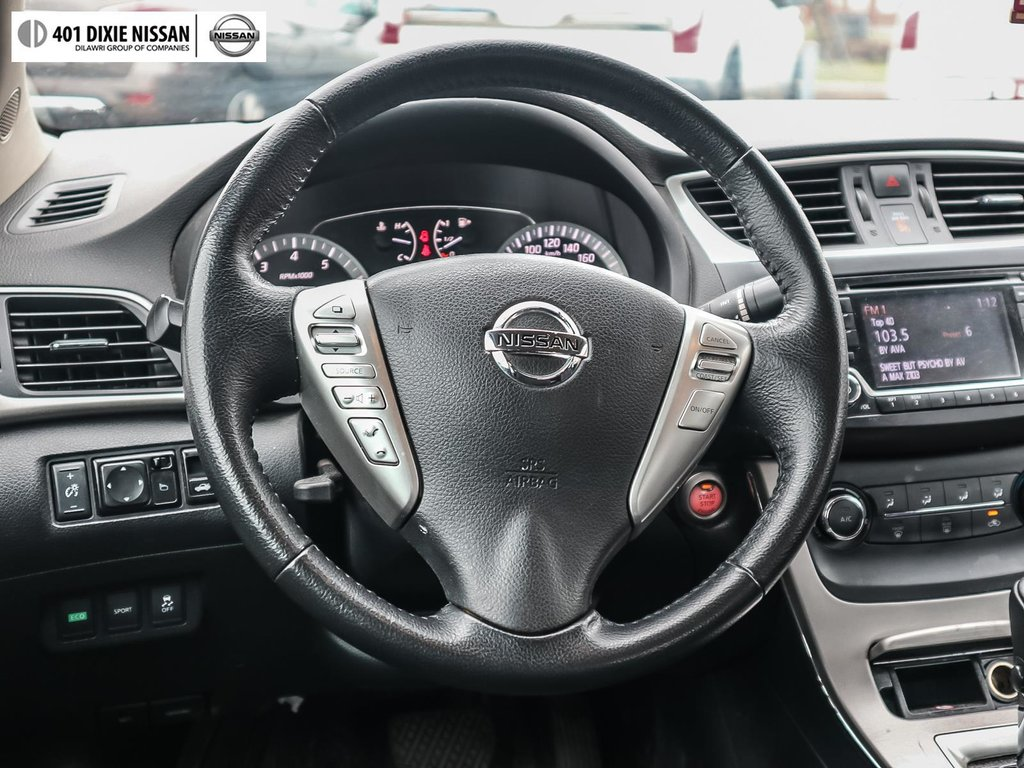 2015 Nissan Sentra 1.8 SV CVT in Mississauga, Ontario - 11 - w1024h768px