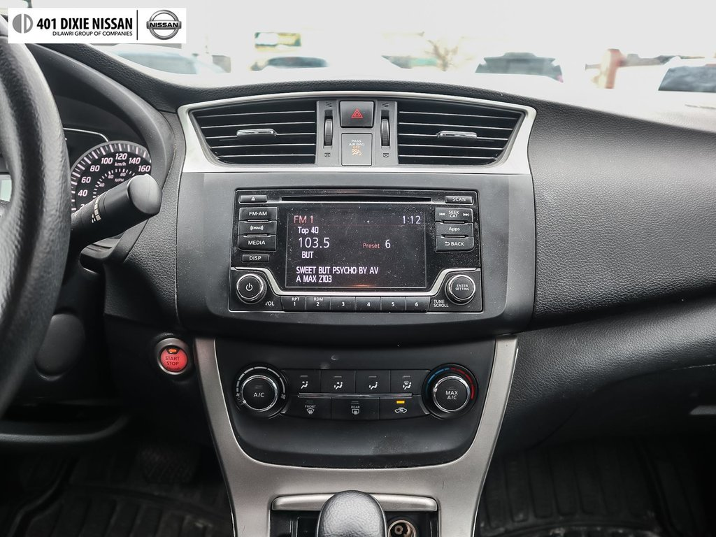 2015 Nissan Sentra 1.8 SV CVT in Mississauga, Ontario - 14 - w1024h768px