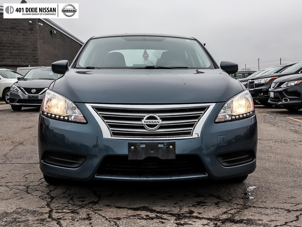 2015 Nissan Sentra 1.8 SV CVT in Mississauga, Ontario - 2 - w1024h768px