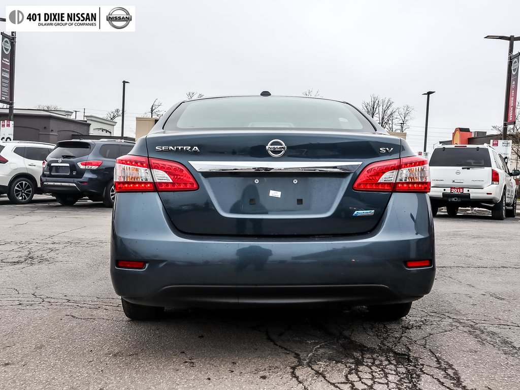 2015 Nissan Sentra 1.8 SV CVT in Mississauga, Ontario - 25 - w1024h768px