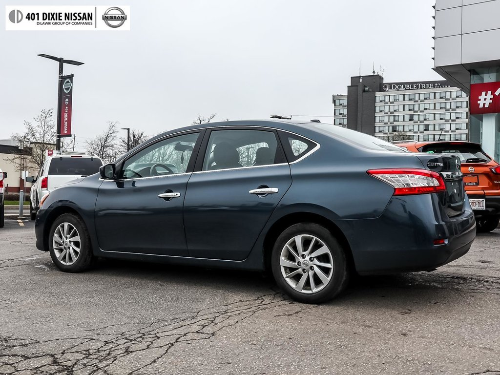 2015 Nissan Sentra 1.8 SV CVT in Mississauga, Ontario - 6 - w1024h768px