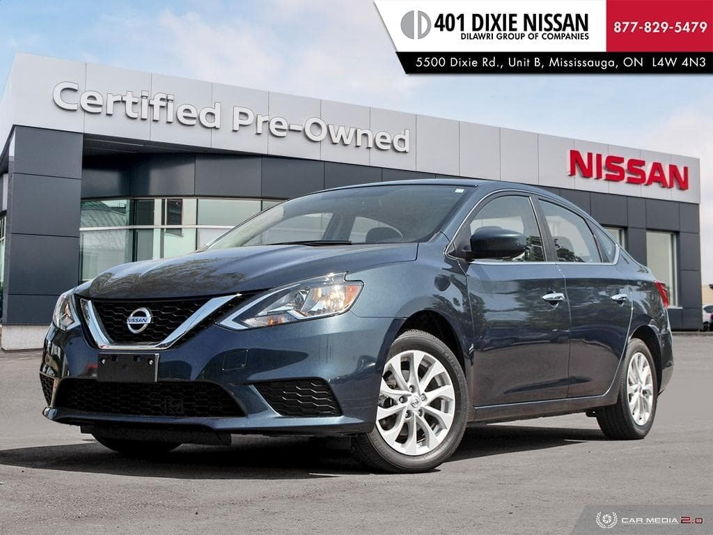 2016 Nissan Sentra 1.8 SV CVT in Mississauga, Ontario - 1 - w1024h768px