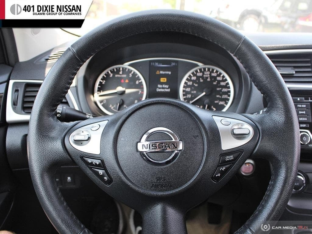 2016 Nissan Sentra 1.8 SV CVT in Mississauga, Ontario - 14 - w1024h768px