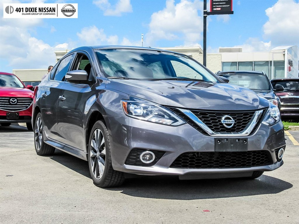 2017 Nissan Sentra 1.6 SR Turbo 6sp in Mississauga, Ontario - 27 - w1024h768px