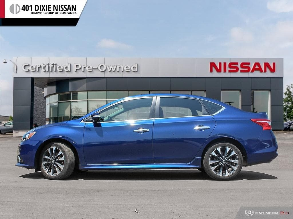 2017 Nissan Sentra 1.6 SR Turbo MCVT in Mississauga, Ontario - 3 - w1024h768px