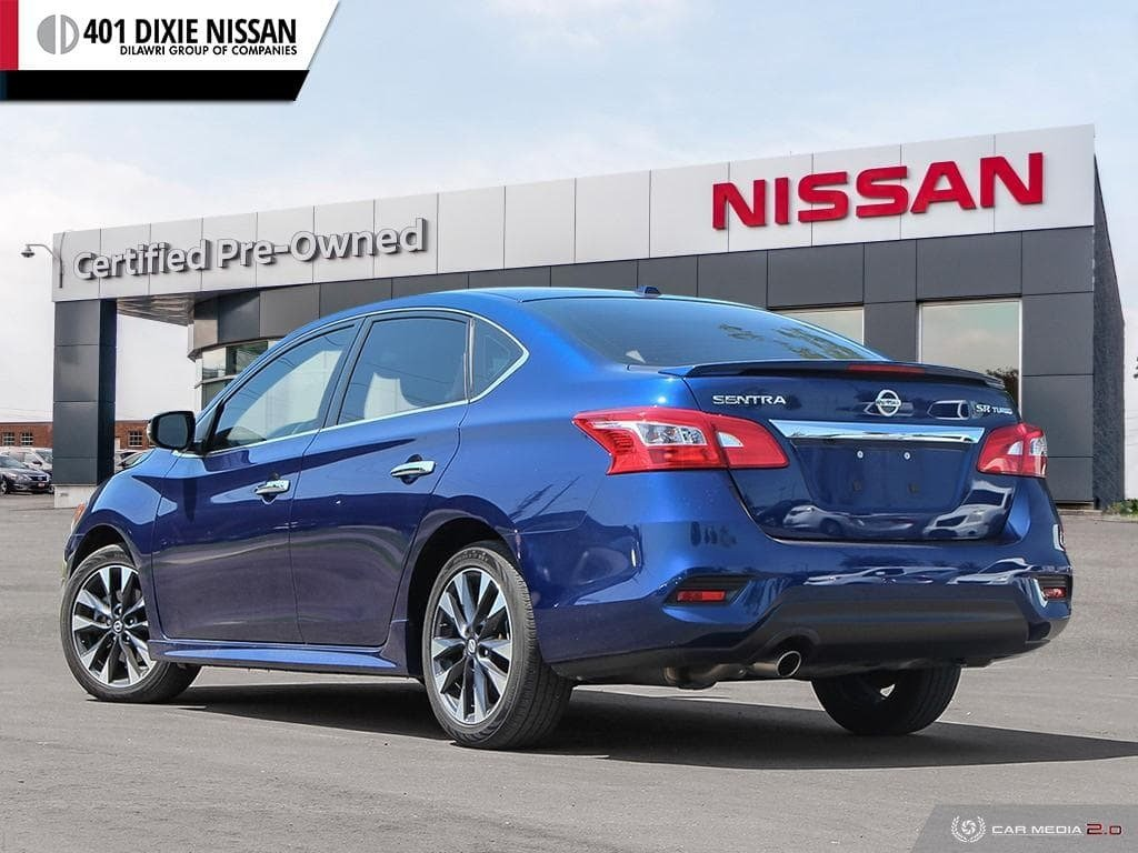 2017 Nissan Sentra 1.6 SR Turbo MCVT in Mississauga, Ontario - 4 - w1024h768px