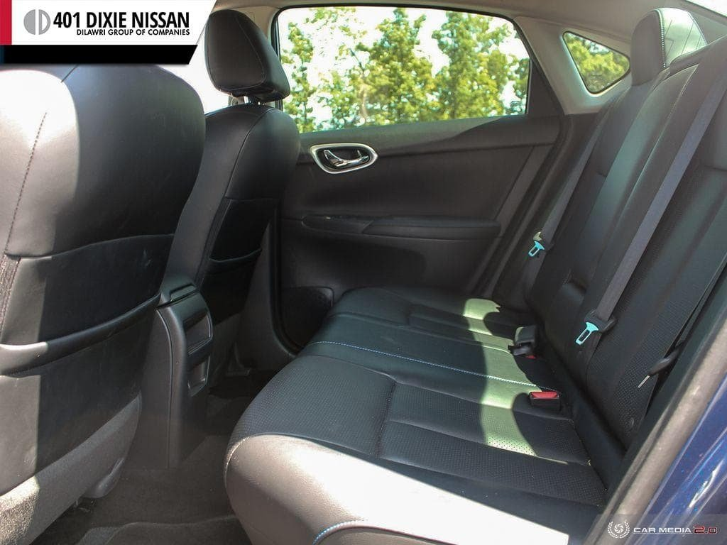 2017 Nissan Sentra 1.6 SR Turbo MCVT in Mississauga, Ontario - 23 - w1024h768px
