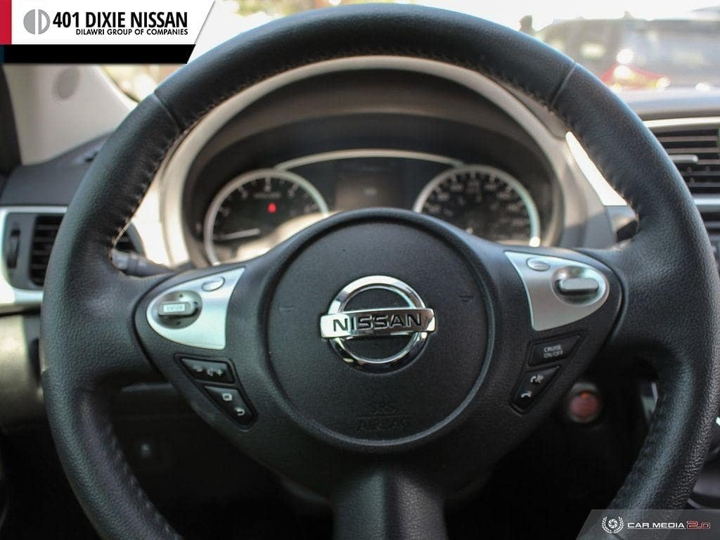 2017 Nissan Sentra 1.6 SR Turbo MCVT in Mississauga, Ontario - 14 - w1024h768px
