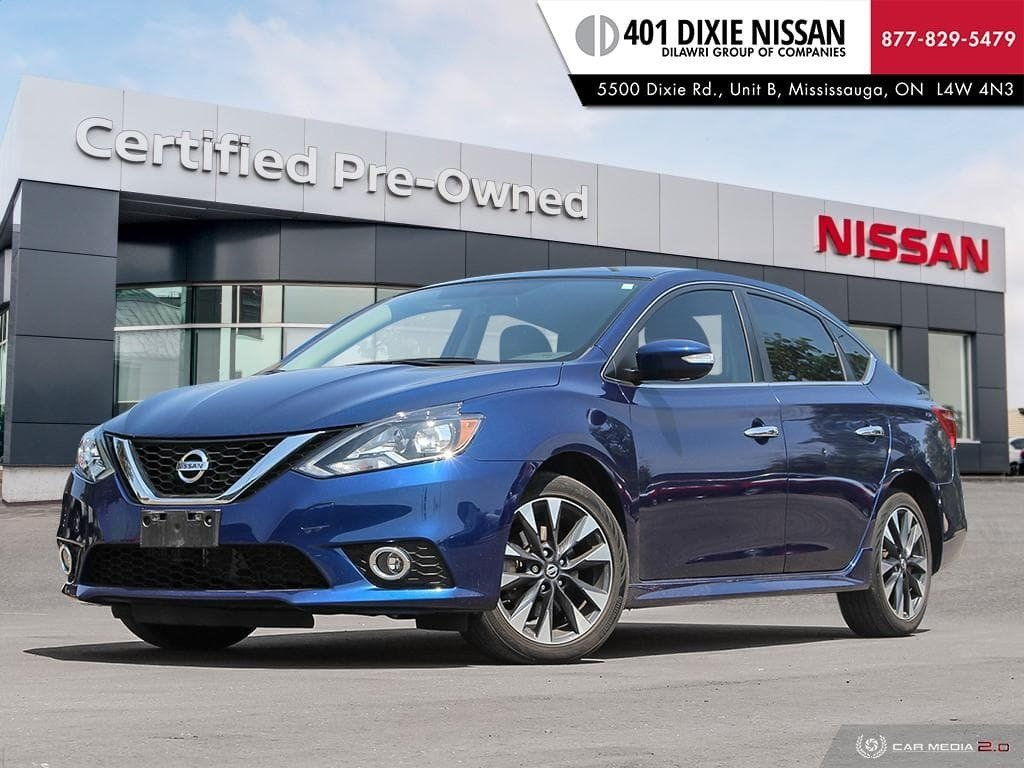 2017 Nissan Sentra 1.6 SR Turbo MCVT in Mississauga, Ontario - 1 - w1024h768px