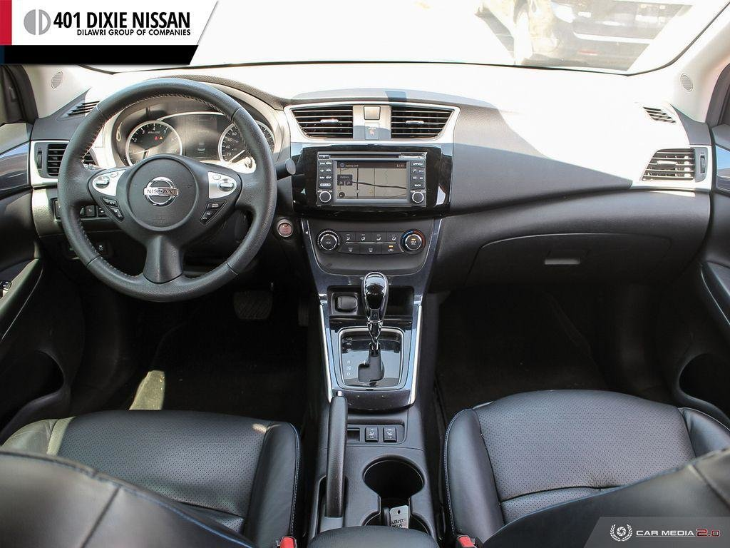 2017 Nissan Sentra 1.6 SR Turbo MCVT in Mississauga, Ontario - 24 - w1024h768px