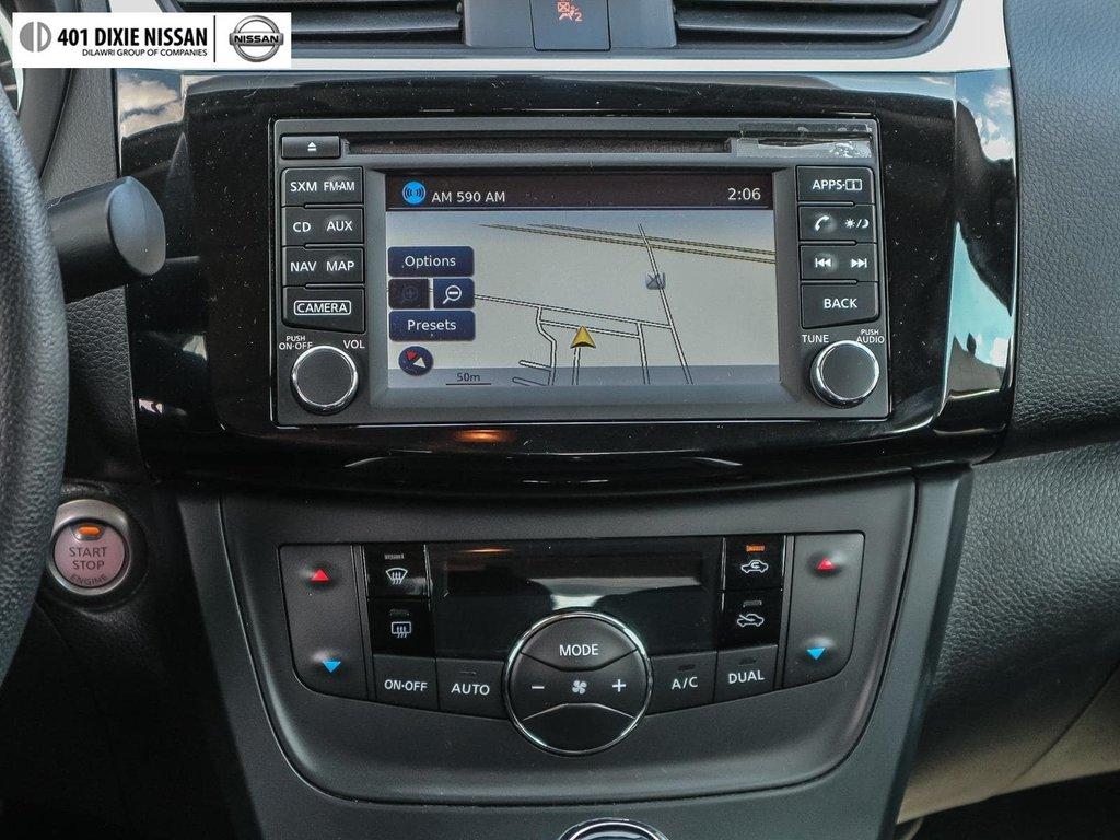 2018 Nissan Sentra 1.8 SV CVT in Mississauga, Ontario - 17 - w1024h768px
