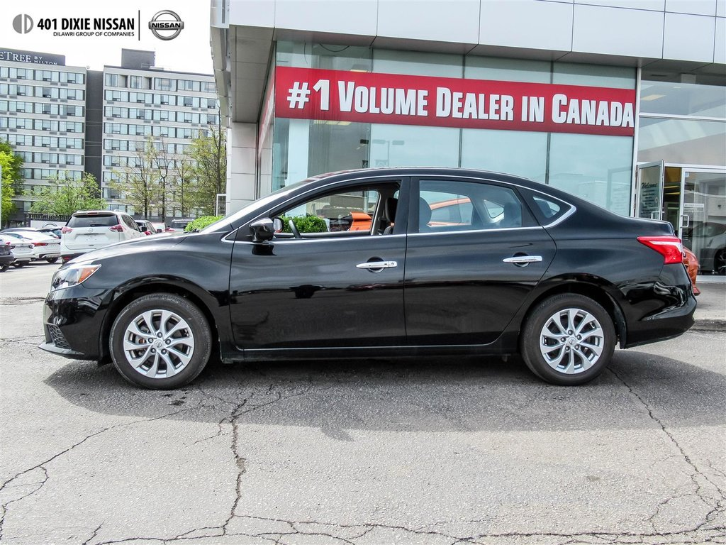 2018 Nissan Sentra 1.8 SV CVT in Mississauga, Ontario - 12 - w1024h768px