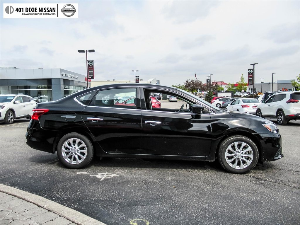 2018 Nissan Sentra 1.8 SV CVT in Mississauga, Ontario - 9 - w1024h768px