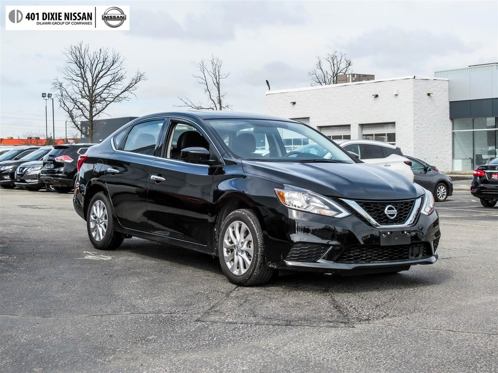 2018 Nissan Sentra 1.8 SV CVT in Mississauga, Ontario - 8 - w1024h768px