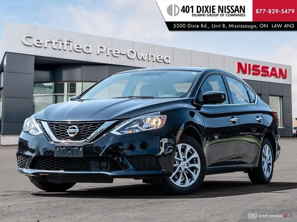 2019 Nissan Sentra 1.8 SV CVT in Mississauga, Ontario - 1 - w1024h768px
