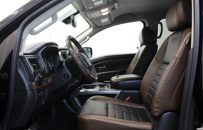 2018 Nissan Titan Crew Cab Platinum 4X4 in Regina, Saskatchewan - 10 - w1024h768px