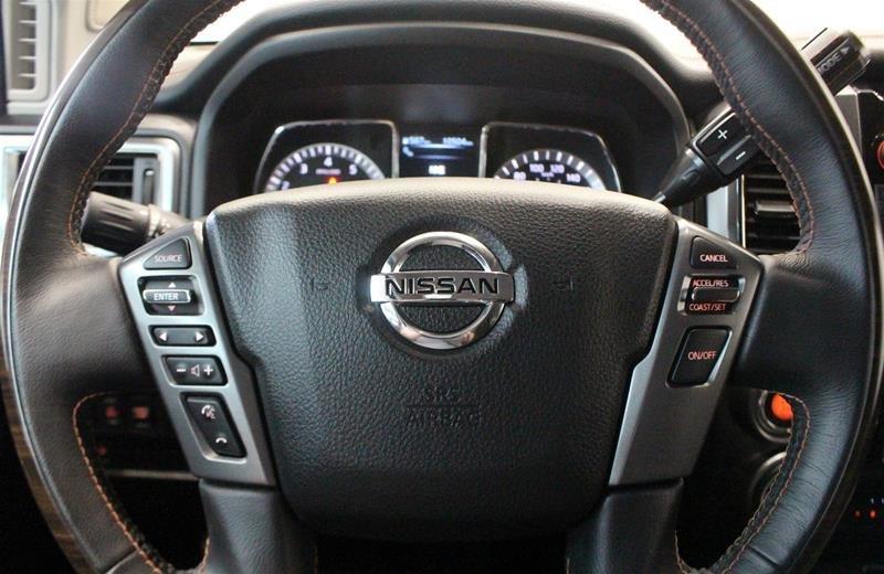 2018 Nissan Titan Crew Cab Platinum 4X4 in Regina, Saskatchewan - 6 - w1024h768px