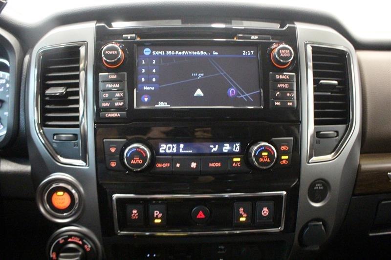 2018 Nissan Titan Crew Cab Platinum 4X4 in Regina, Saskatchewan - 7 - w1024h768px