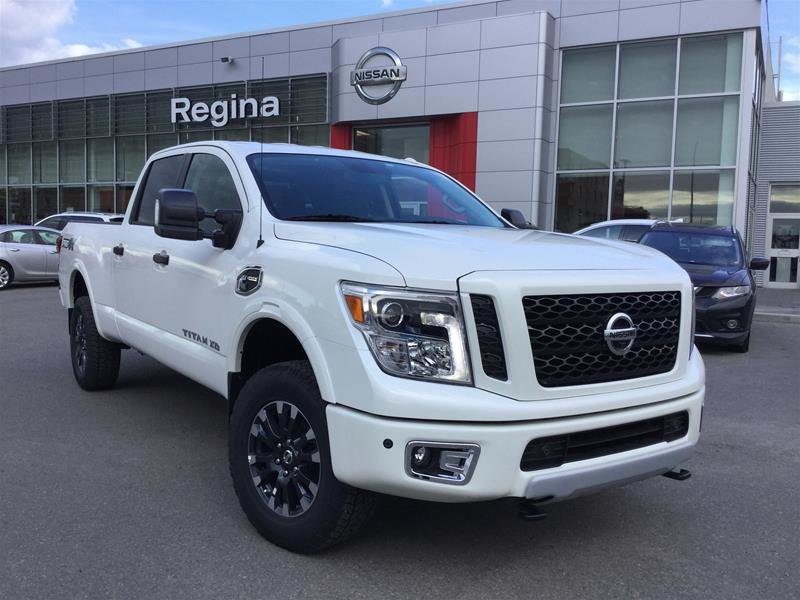 2019 Nissan Titan Crew Cab XD PRO-4X 4x4 Diesel in Regina, Saskatchewan - 4 - w1024h768px