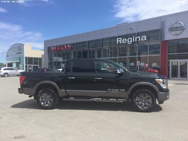 2019 Nissan Titan Crew Cab Platinum 4X4 in Regina, Saskatchewan - 3 - w1024h768px