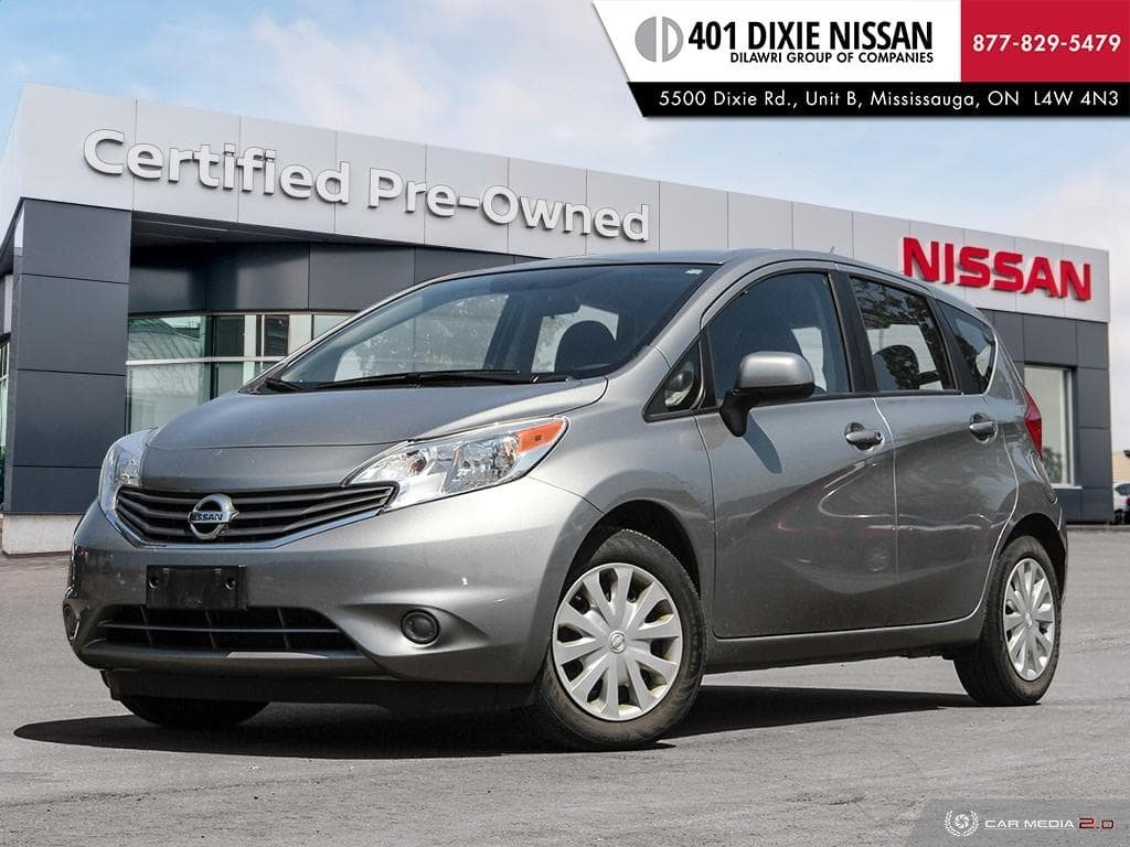 2014 Nissan Versa Note Hatchback 1.6 SV CVT in Mississauga, Ontario - 1 - w1024h768px