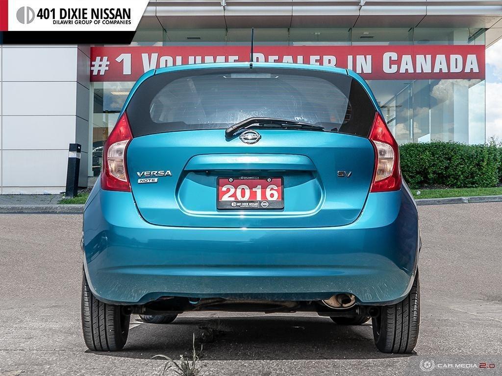 2016 Nissan Versa Note Hatchback 1.6 SV CVT in Mississauga, Ontario - 5 - w1024h768px
