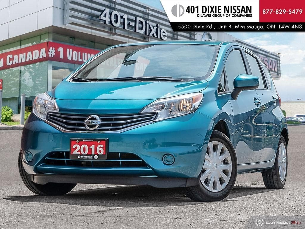 2016 Nissan Versa Note Hatchback 1.6 SV CVT in Mississauga, Ontario - 1 - w1024h768px