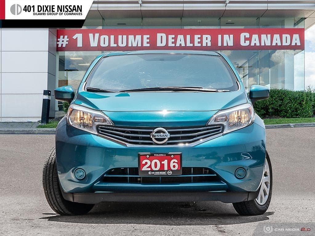 2016 Nissan Versa Note Hatchback 1.6 SV CVT in Mississauga, Ontario - 2 - w1024h768px