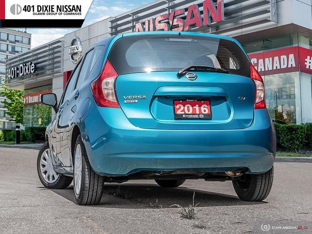 2016 Nissan Versa Note Hatchback 1.6 SV CVT in Mississauga, Ontario - 4 - w1024h768px