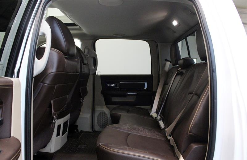 2013 Ram 1500 Crew Cab Laramie Longhorn Navigation Rear Heated Seats in Regina, Saskatchewan - 12 - w1024h768px