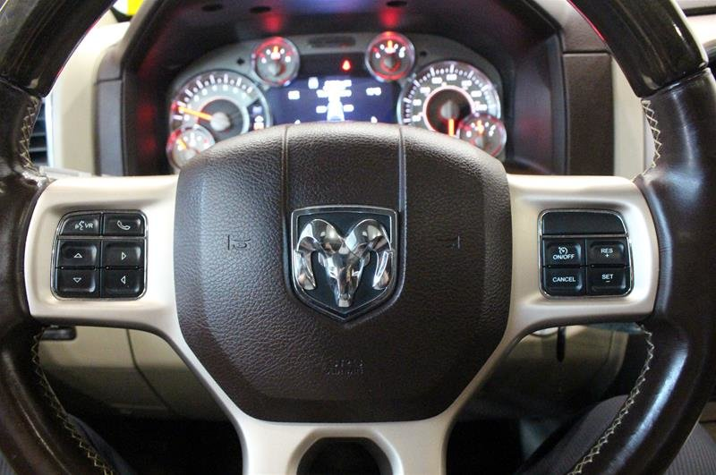 2013 Ram 1500 Crew Cab Laramie Longhorn Navigation Rear Heated Seats in Regina, Saskatchewan - 2 - w1024h768px