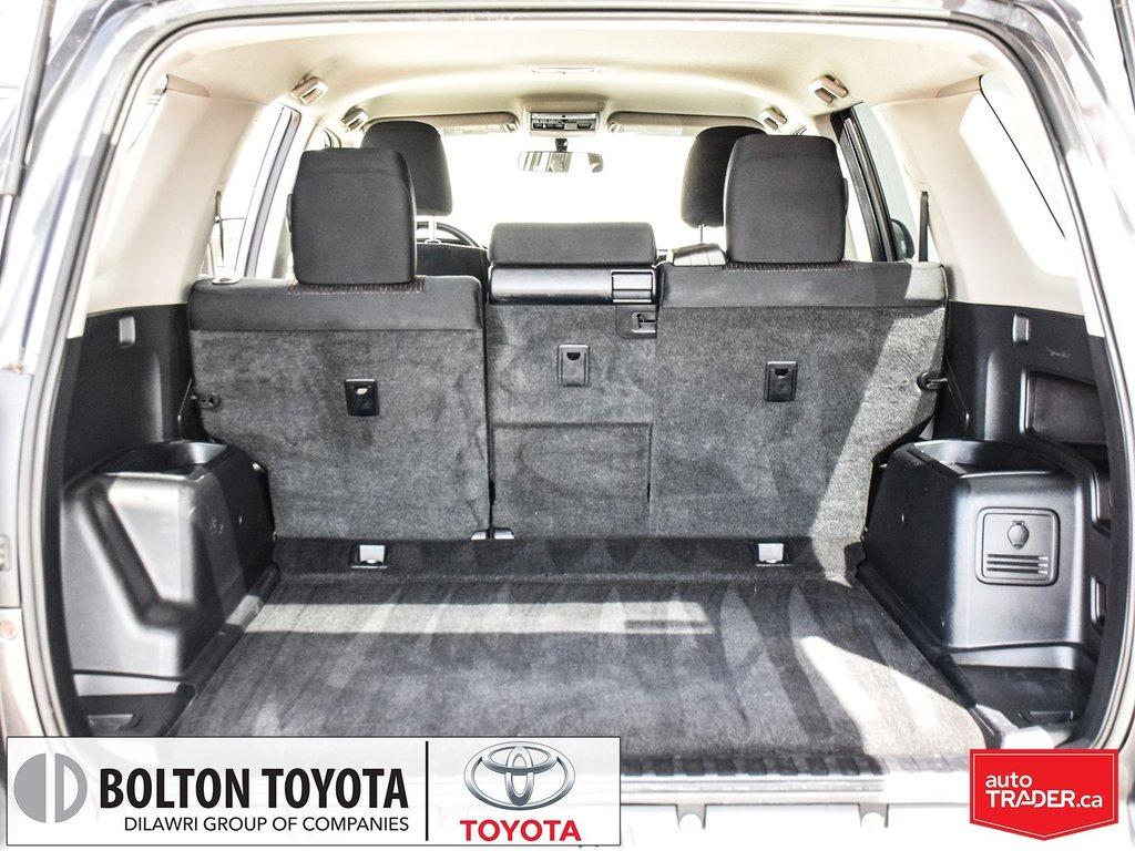 2013 Toyota 4Runner SR5 V6 5A in Bolton, Ontario - 24 - w1024h768px