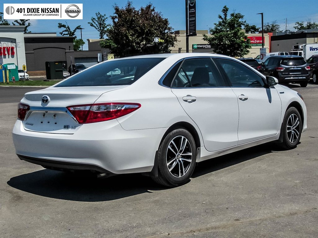 2017 Toyota Camry Hybrid LE CVT in Mississauga, Ontario - 20 - w1024h768px