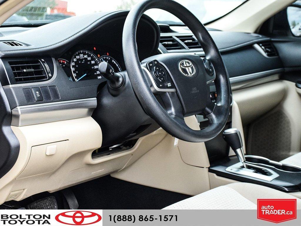 2014 Toyota Camry 4-door Sedan LE 6A (2) in Bolton, Ontario - 10 - w1024h768px