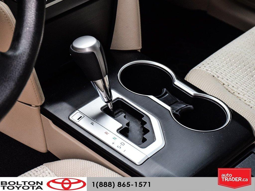 2014 Toyota Camry 4-door Sedan LE 6A (2) in Bolton, Ontario - 19 - w1024h768px