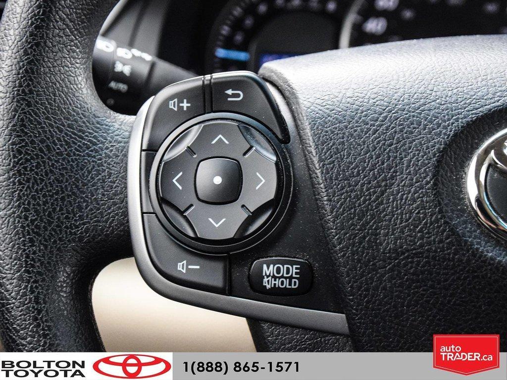 2014 Toyota Camry 4-door Sedan LE 6A (2) in Bolton, Ontario - 16 - w1024h768px