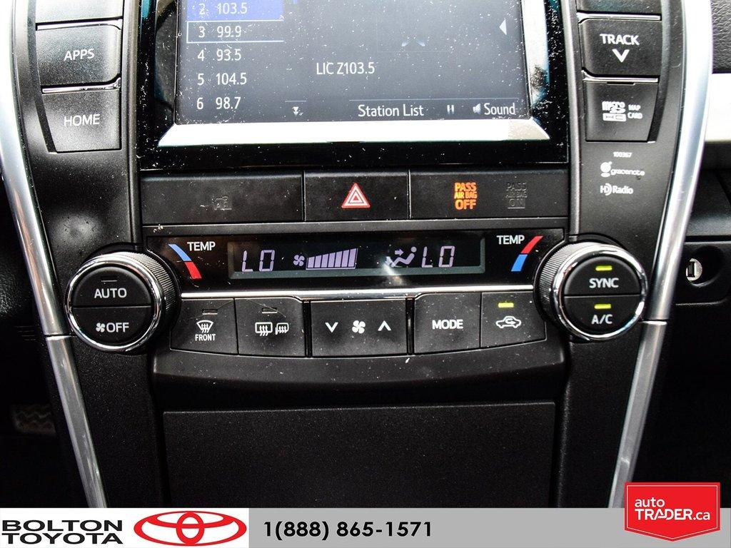 2015 Toyota Camry 4-Door Sedan XSE 6A in Bolton, Ontario - 23 - w1024h768px