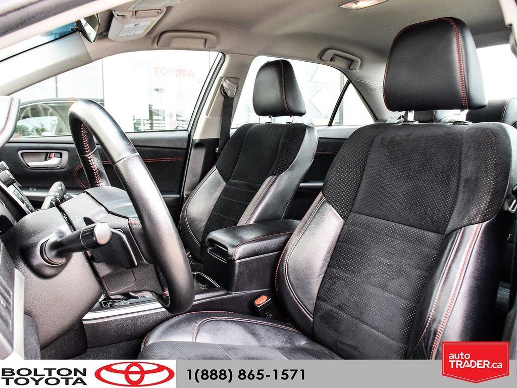2015 Toyota Camry 4-Door Sedan XSE 6A in Bolton, Ontario - 12 - w1024h768px