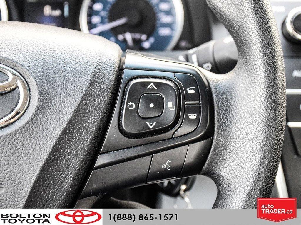 2016 Toyota Camry 4-Door Sedan LE 6A in Bolton, Ontario - 15 - w1024h768px