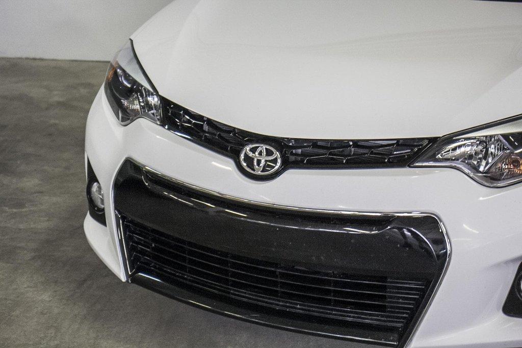 2015 Toyota Corolla S/Caméra Recul/ Banc Chauffants / Bluetooth in Verdun, Quebec - 41 - w1024h768px